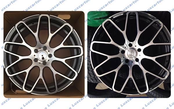 Rims 20 size 5x112x9.5;8,5 Brabus Monoblock Y for Mercedes Benz S class W222