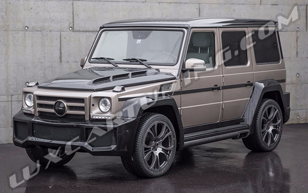 FAB Design SHAHIN BI-color body kit for Mercedes Benz G class W463
