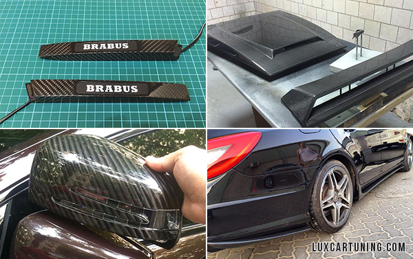 All kind of carbon exterior and interior parts for Mercedes Benz G class W463