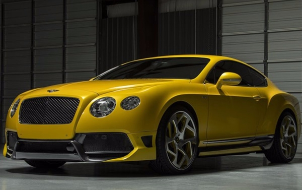 Carbon bodykit Vorsteiner BR-10RS for Bentley Continental GT2