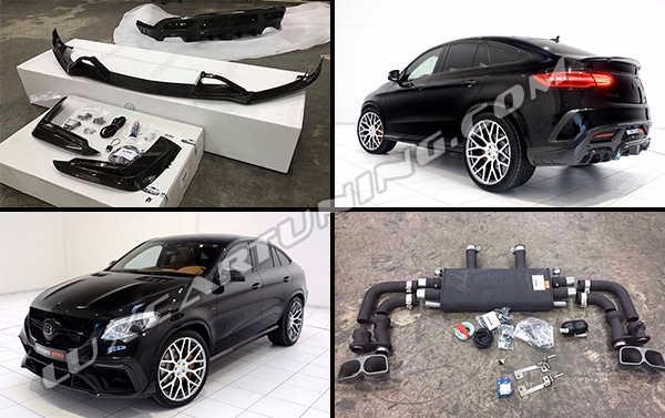Full carbon fiber body kit BRABUS 850 style for Mercedes Benz GLE 63 coupe W292