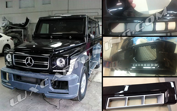 Full body kit Hamann Spyridon for Mercedes Benz G class W463