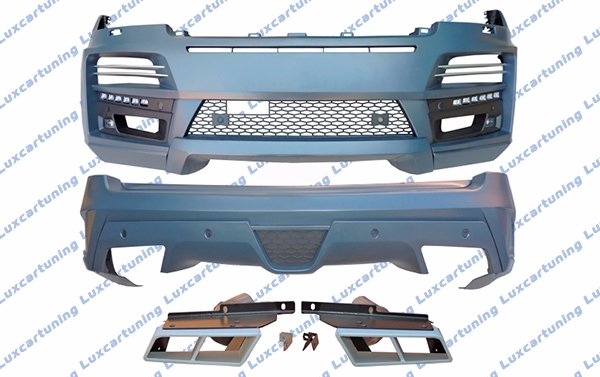 Body kit StarTech for Range Rover Vogu e after 2013 model: front bumper set, rear bumper set, exhaust pips