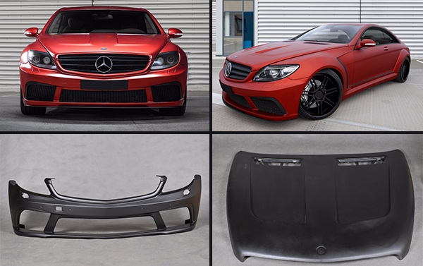Full body kit Black Series for Mercedes Benz CL class W216
