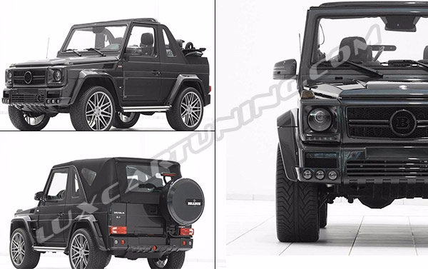 IN STOCK, Full body kit BRABUS GV12 S 900 and GV12 700 for Mercedes Benz  G class coupe and cabrio W463