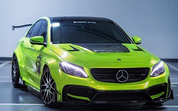C class exclusive body kit wide body kit for mercedes benz c class w205 - Mercedes c class coupe body kit ...