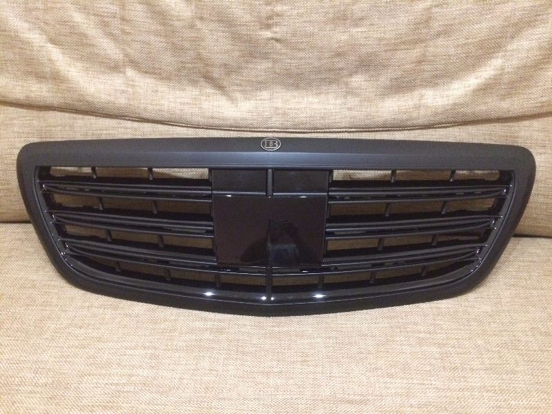 Spare parts and accessories front grill for Mercedes benz s550 parts and accessories