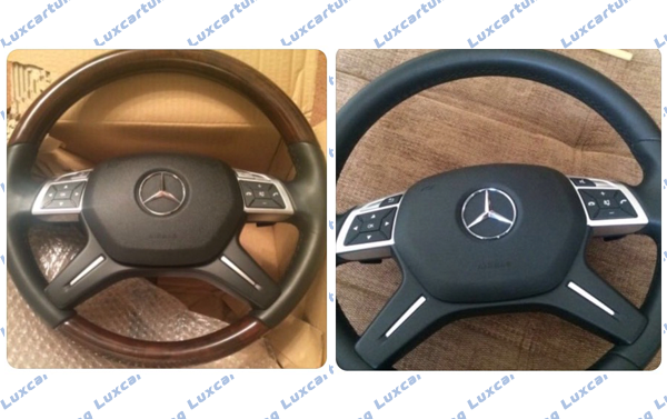 Steering wheel 2014-16 AMG Style for Mercedes Benz G class