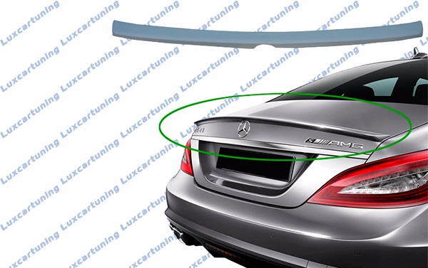 Trunk spoiler 63 AMG for Mercedes Benz CLS class W218