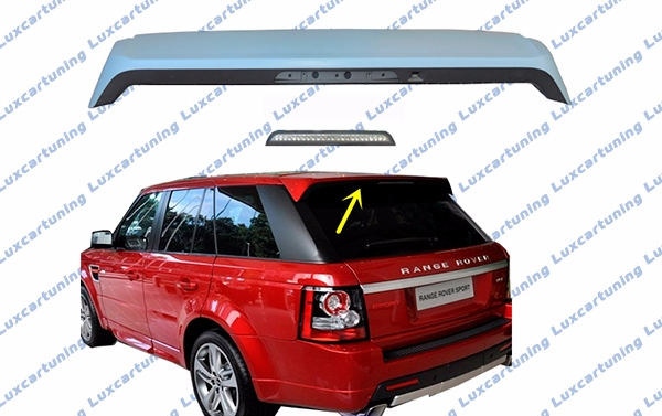 Spoiler on rear door AUTOBIOGRAPHY style for Range Rover Sport till 2013 model