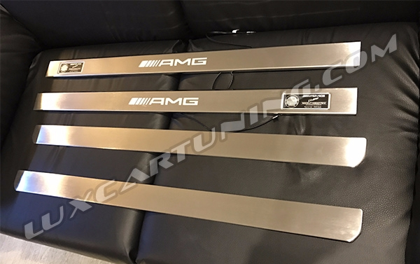 Illuminated entrance panels AMG for Mercedes Benz CL class W216