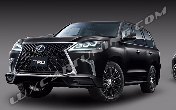 ☑️2017-18 model TRD full body kit available for Your Lexus LX570 up to 2014 model: