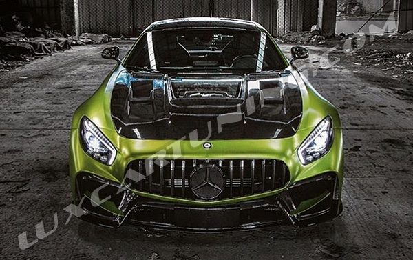 Aero body kit with carbon elements and trims for your Mercedes Benz AMG GT(S) C190: