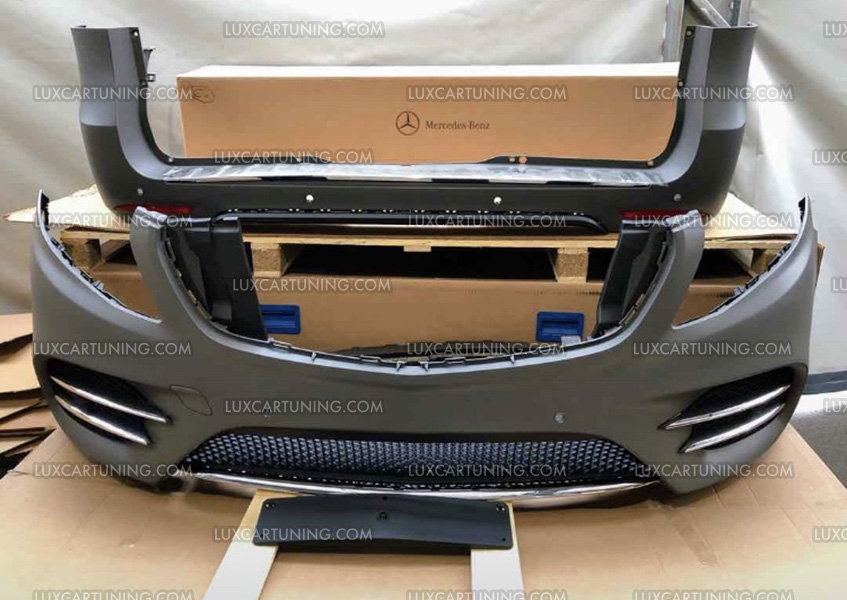 Luxcartuning Com V Class Amg Line Conversion Kit For