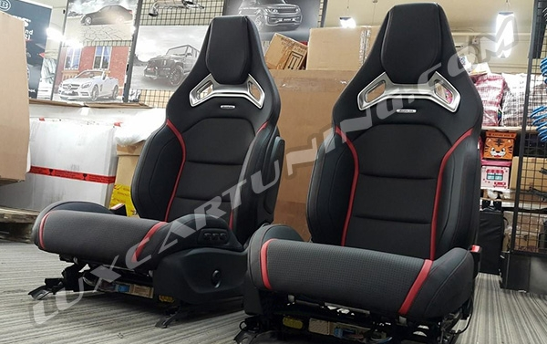 AMG- RECARO front seats Assembly with all control units for Mercedes Benz