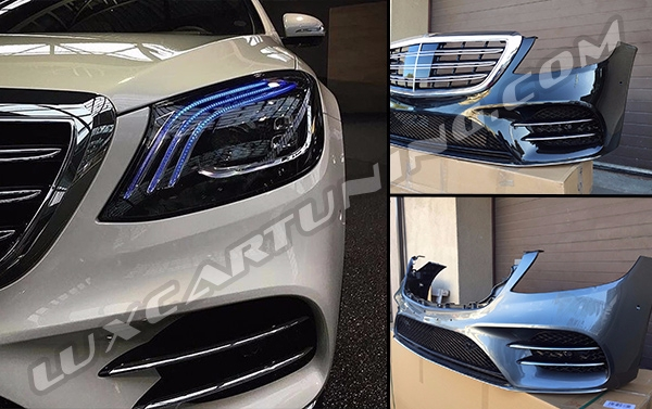 AMG SPORT LINE conversion 2017-18 MY body kit for Your Mercedes Benz S class W222: