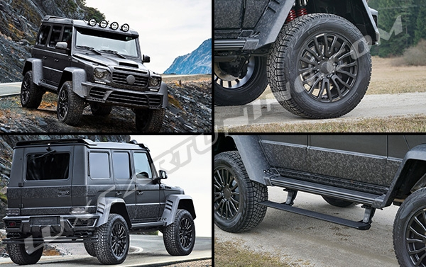 Available for order | Mansory forged carbon wide body kit for G500 4x4: