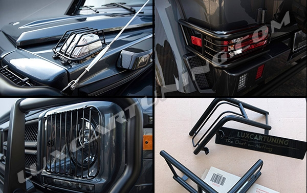 Available in stock | G550 4x4 ADVENTURE BRABUS full exterior conversion kit for Your Mercedes Benz G500 4x4: