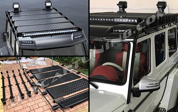 ► Available in stock | G550 4x4 ADVENTURE BRABUS full exterior conversion kit for Your Mercedes Benz G500 4x4: