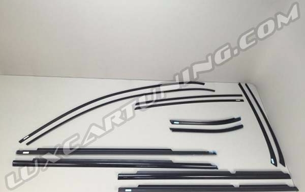 Black edition windows frames set for Your Mercedes Benz GLE coupe C292