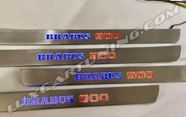 Brabus 900 illuminated entrance panels for Maybach S560/600/650 X222