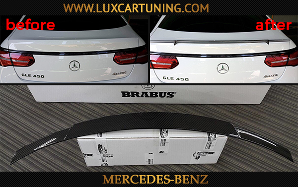Brabus carbon wing-spoiler for Your Mercedes Benz GLE coupe C292.