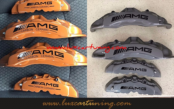 Break support covers by AMG Carbon Ceramic style for all models of Mercedes Benz