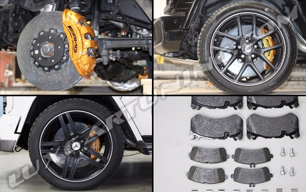 Carbon Ceramic brake system@for Your Mercedes Benz G class W463