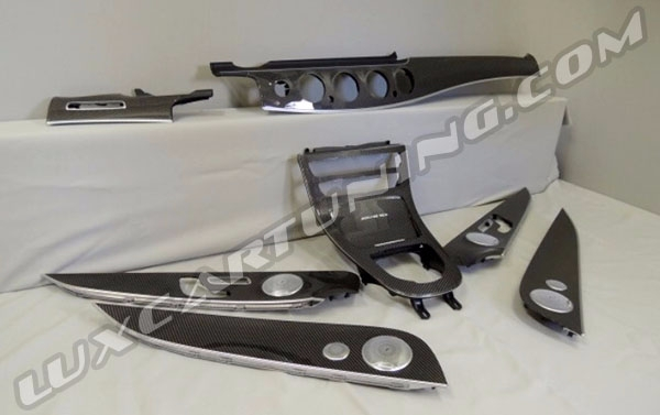 Carbon fiber interior trims set for Your Mercedes Benz E class W213.
