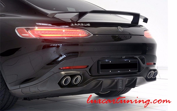 Carbon fiber wing-spoiler by Brabus style for Mercedes Benz AMG GT(s) C190