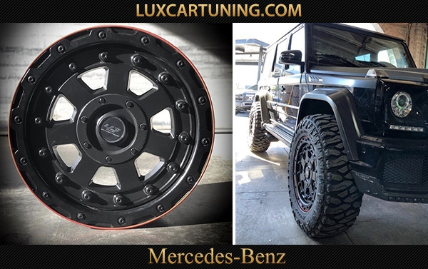 Exclusive   463 industries R20x9.5 wheels for Mercedes Benz G class W463 (5x130) and R22x9.5 for Mercedes Benz G500 4x4 (8x165).