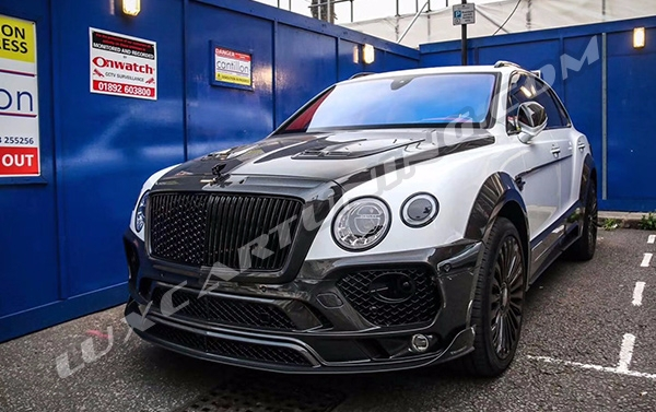 ☑️Exclusive Mansory style full carbon wide body kit for Your Bentley Bentayga: