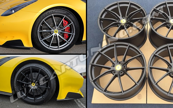 EXCLUSIVE | R20 TDF Limited Edition wheels for Ferrari F12: