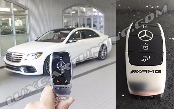 Facelift 2017-18 MY keys for Mercedes Benz S class W222 , S coupe C217, Maybach S560/600/650 X222