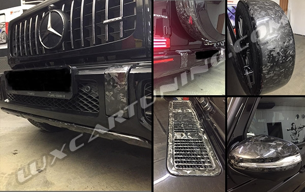 Forged Carbon fiber exterior body kit for Mercedes Benz G63 AMG W463A: