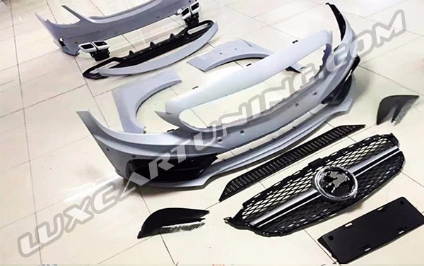 Full body kit Carlson for Your Mercedes Benz C class W295