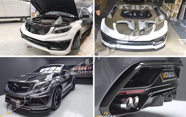 Full Body kit LUMMA CLR G800 for Mercedes Benz GLE coupe W292