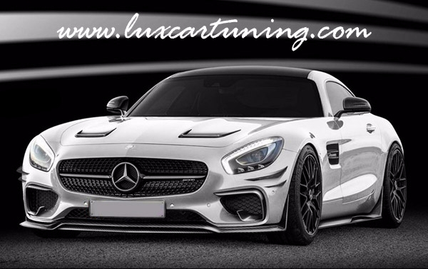 Full carbon body kit RevoZport for Mercedes Benz AMG GT