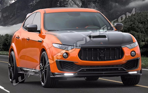 ☑️Full carbon fiber Mansory body kit for Maserati Levante: