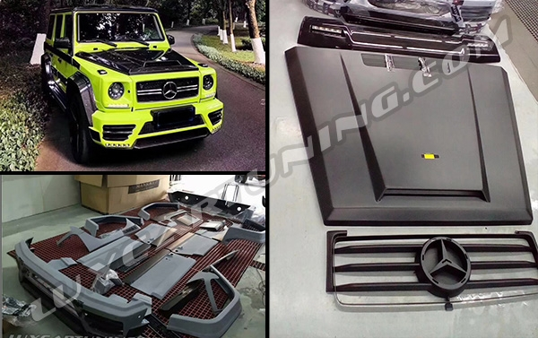 ►Full wide body kit Mansory for Mercedes Benz G class W463