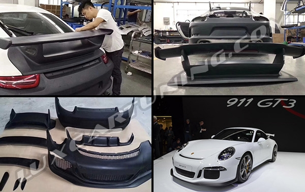 GT3 body kit for your Porsche 911 and 991.1: