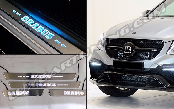 Illuminated door sills Brabus for Mercedes Benz GLE coupe C292