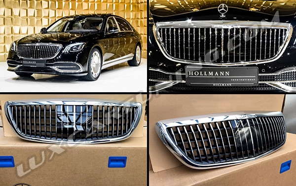 In Stock   2018-19MY Maybach S680 genuine radiator grill for Maybach X222 and Mercedes Benz S class W222.