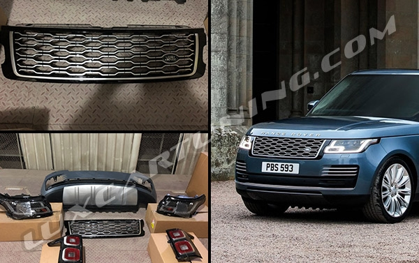 In Stock | 2018MY facelift body kit for Range Rover Vogue L405 2013-17 models: