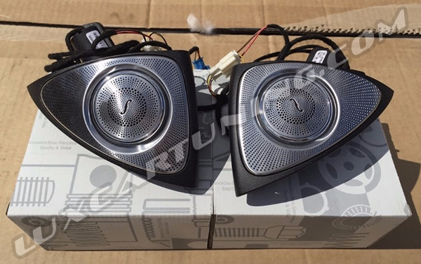 S class in stock burmester audio sound for Mercedes benz c300 sound system