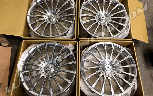 in stock/In stock Set of Facelift Maybach and 65 AMG forged wheels R20 for the all new Maybach S600/S560 X222, S-Class C217 and W222.