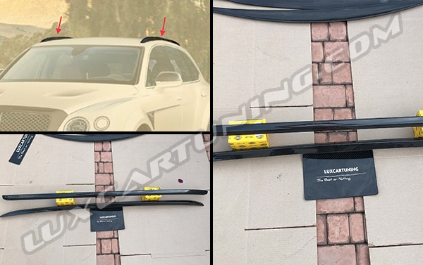 In stock|Mansory carbon fiber roof racks covers for your Bentley Bentayga.