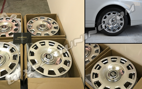 In Stock | R21 chrome forged wheels for Rolls Royce Drophead and Phantom.