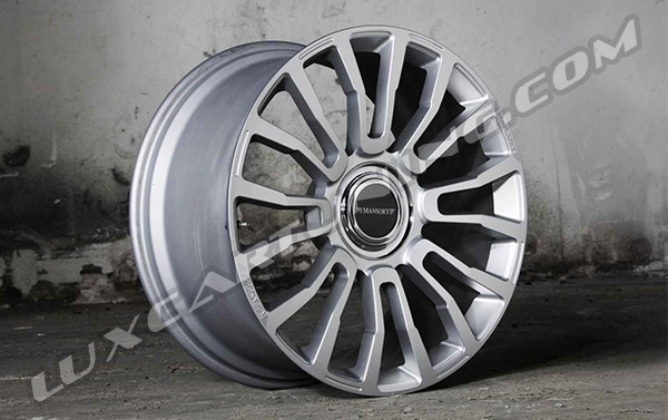Mansory M8 R20-R22 Black Diamond and Silver Diamond wheels for Your: