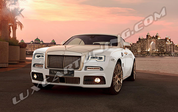 Mansory original body kit for Your Rolls Royce Wraith facelift: also we can offer You to convert your Wraith before facelift to 2017 MY facelift + Mansory body kit: